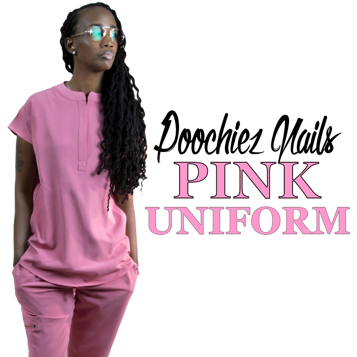 #2 POOCHIEZ PINK UNIFORM