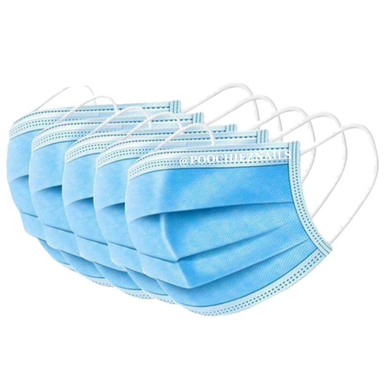 10pcs THREE LAYER MASK