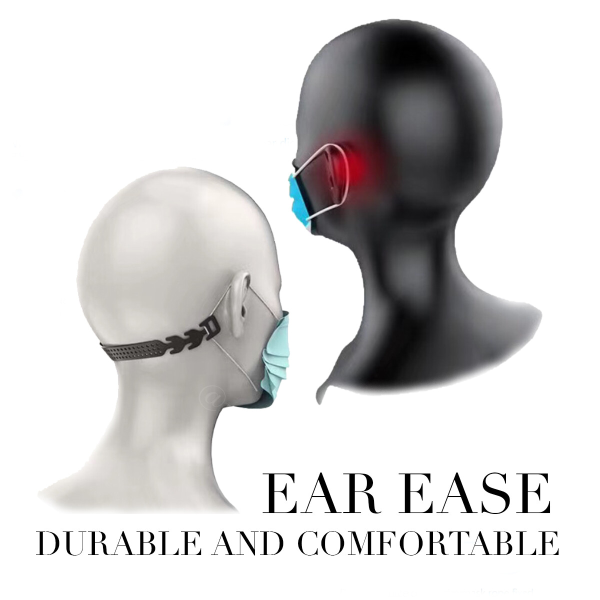 EAR EASE (BLACK COLOR ONLY)