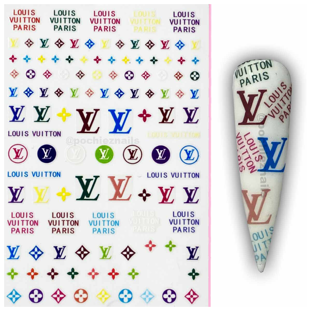LV #1 (STICKERS)