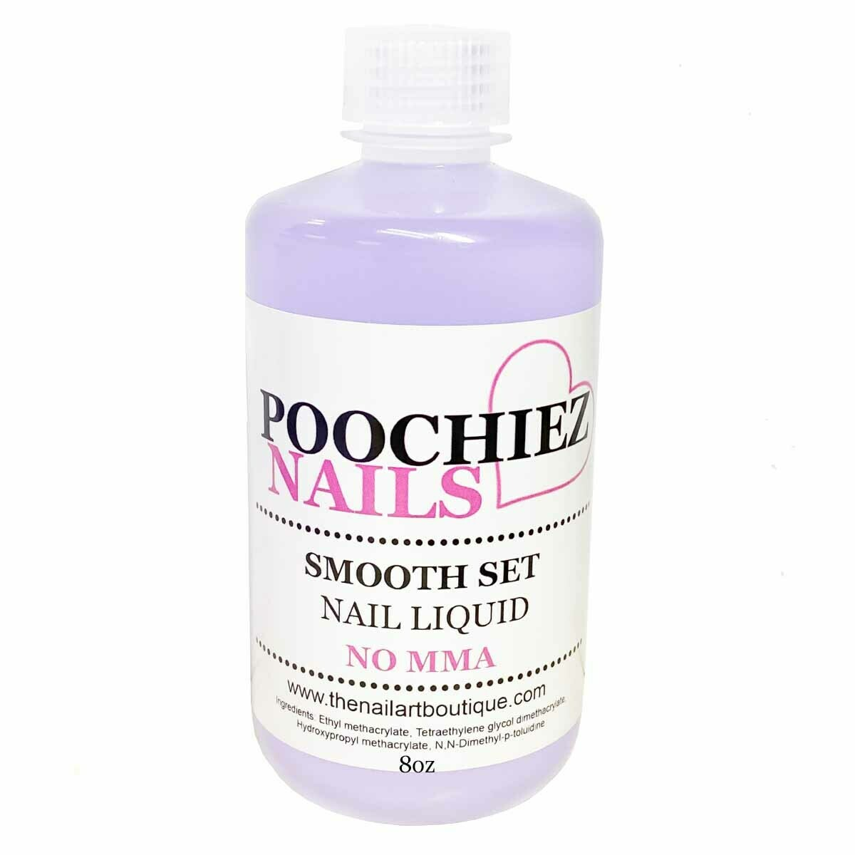 8oz POOCHIEZ NAILS LIQUID MONOMER