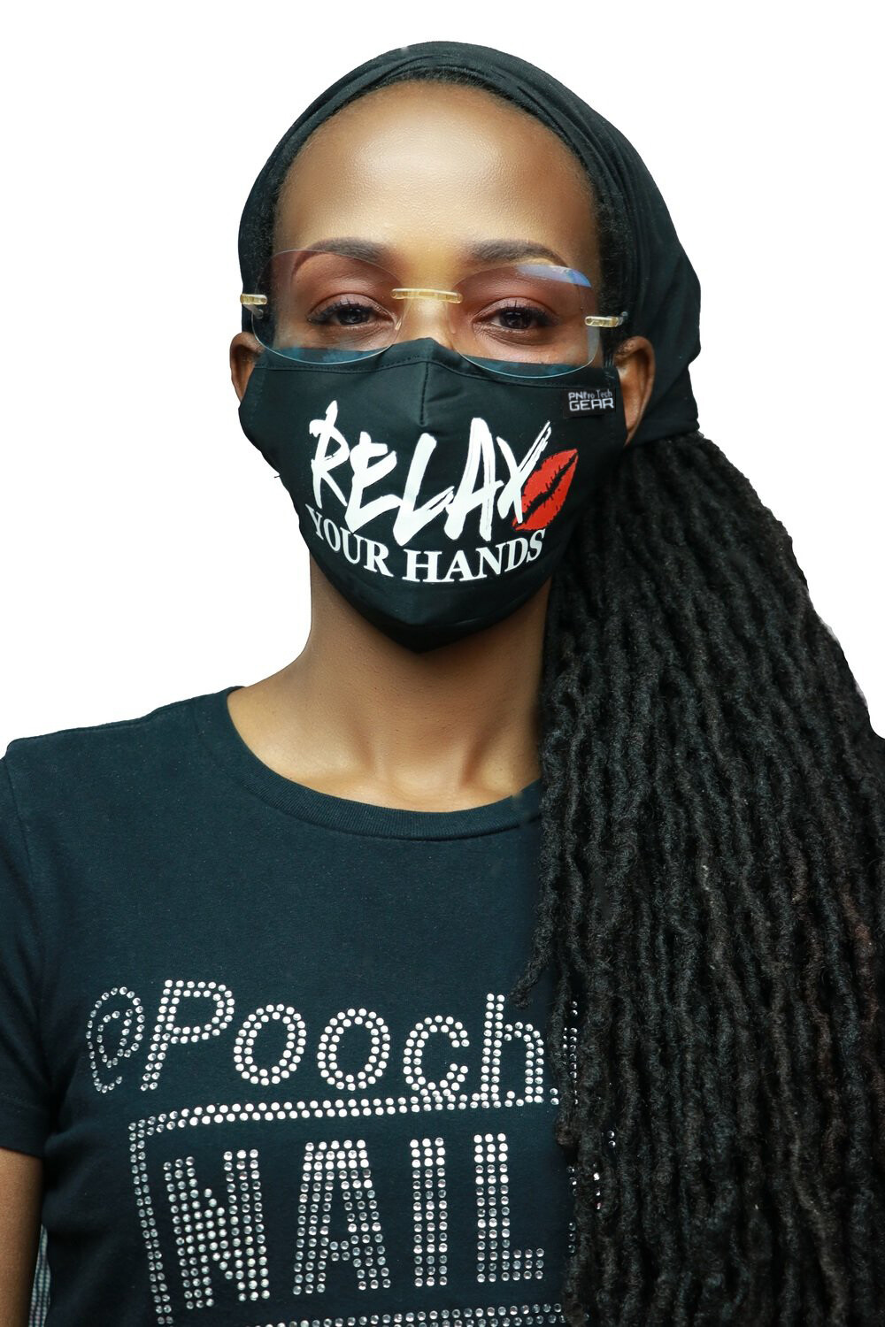 M16-RELAX 1 YOUR HANDS MASK COMES WITH 2 FILTERS