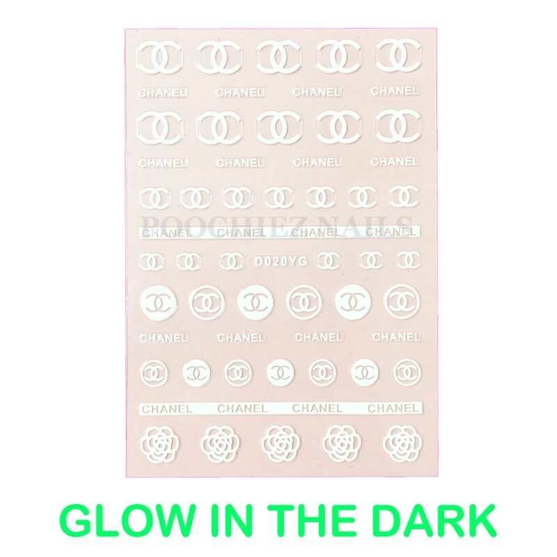 CC GLOW IN THE DARK STICKERS