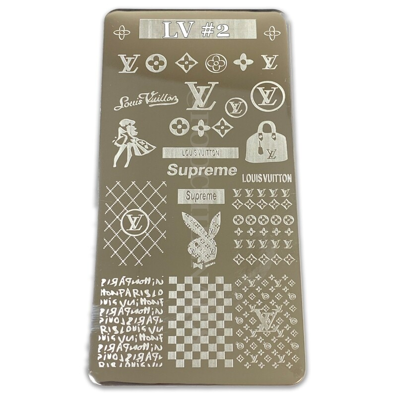 LV #2 STAMPING PLATE