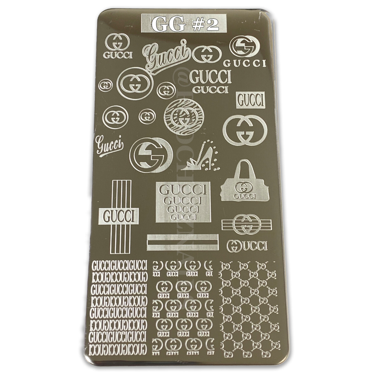 GG #2 STAMPING PLATE