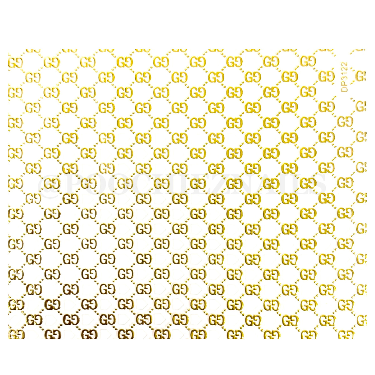 GGGG GOLD STICKER
