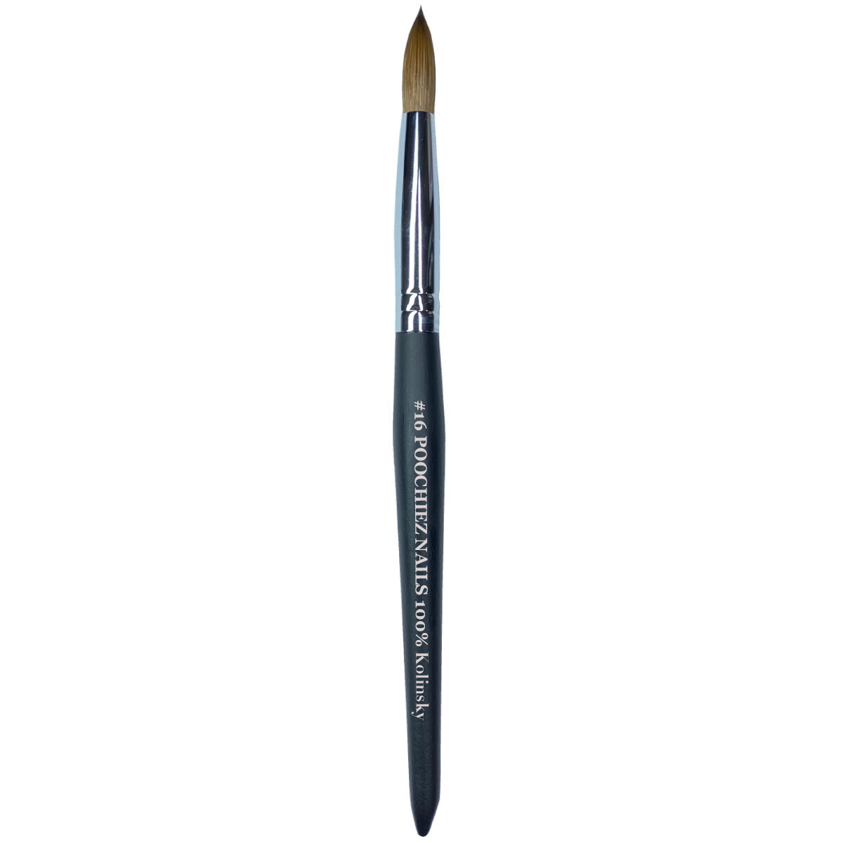 #16 POOCHIEZ NAILS ACRYLIC BRUSH (PINCHED)