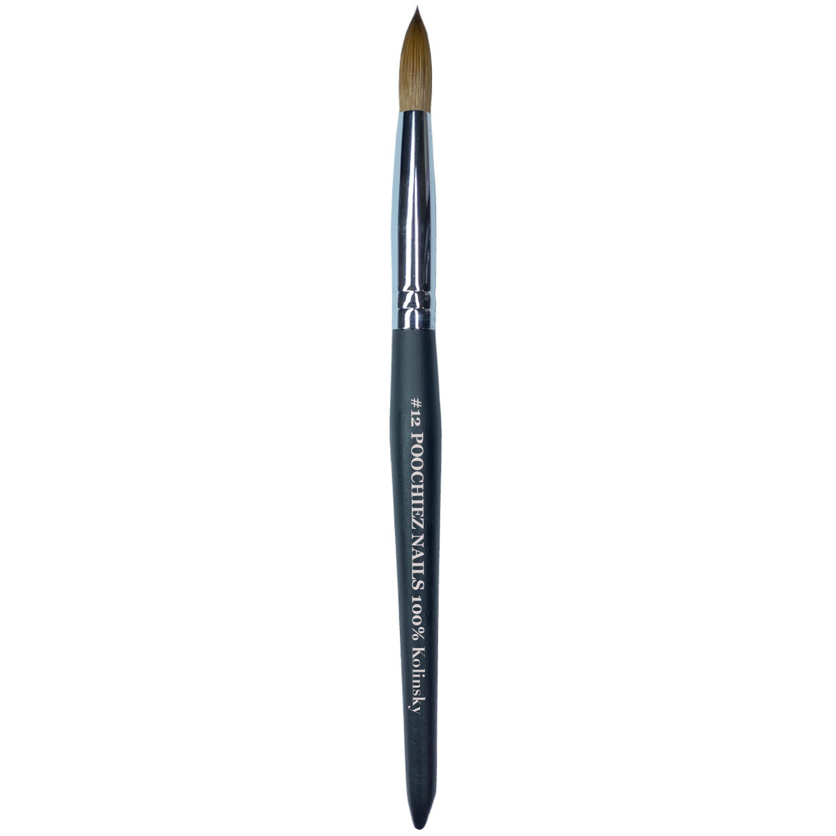 #12 POOCHIEZ NAILS ACRYLIC BRUSH (PINCHED)