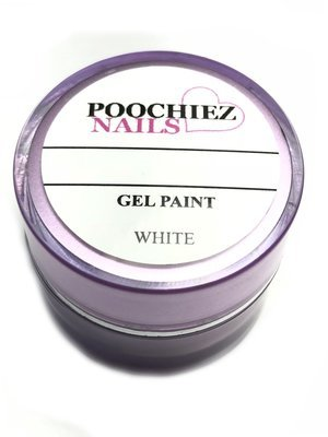 WHITE GEL PAINT 5gm