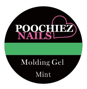 POOCHIEZ NAILS MOLDING GEL MINT 10G EACH