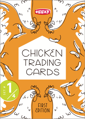 Chicken Trading Cards - Pack 1, 1st Edition