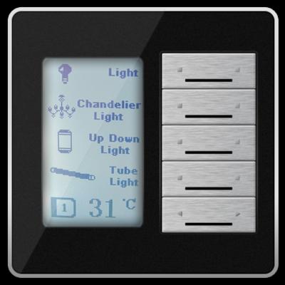 DDP SMART-BUS DYNAMIC DISPLAY PANEL  EU WITH LCD - SB-DDP-EU