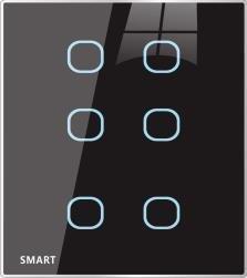 (Bubbles) Touch Switch 6TB  (G4s) Universal Size. SB-Bubbles6T-UN