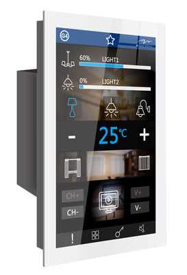 A-motive  panel  by Lotus   large screen touch panel with state of art customizable task screens