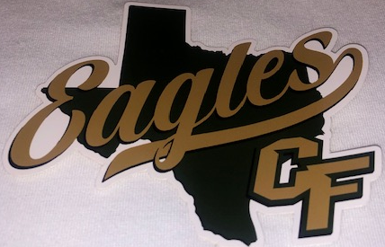 20/21 Cy-Falls Car Window Decal - Texas Eagles