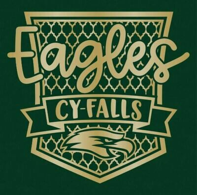 2020/2021 Cy-Falls Shimmer Shield T-Shirt (Small)