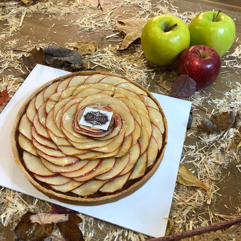 """8"""" Apple Rose Tart"""