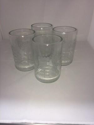 Jar glasses set of 4