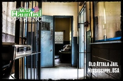 Old Attala Jail and Funeral Home 4th April 2020