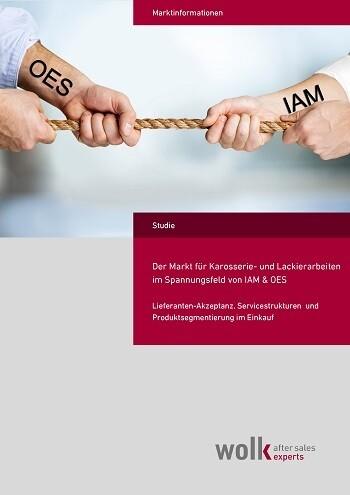 Der Markt für Karosserie- und Lackierarbeiten im Spannungsfeld von IAM & OES