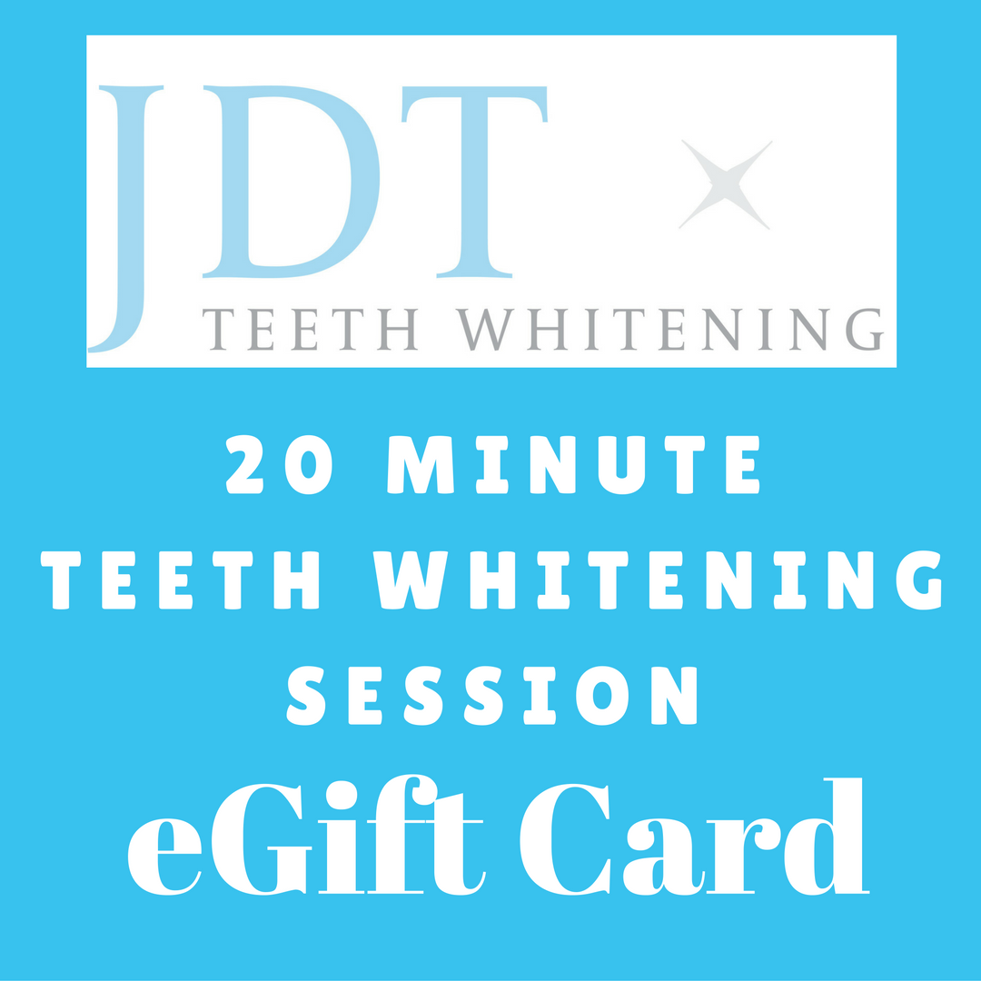 20 Minute Teeth Whitening Session