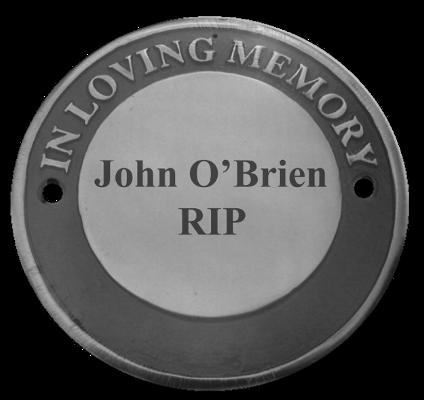 "Engraved ""In Loving Memory"" Cast Memorial Disc (Aluminium)"