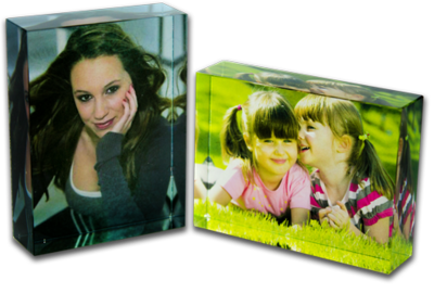 Medium Digitally printed Acrylic blocks