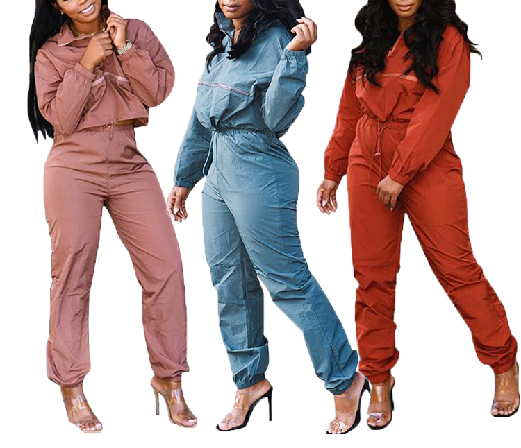Straight Pants Outfits Set