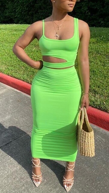Sleeveless Bodycon Maxi Long Dress