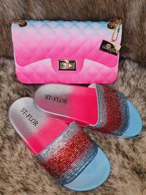 Slip on slide with bag set