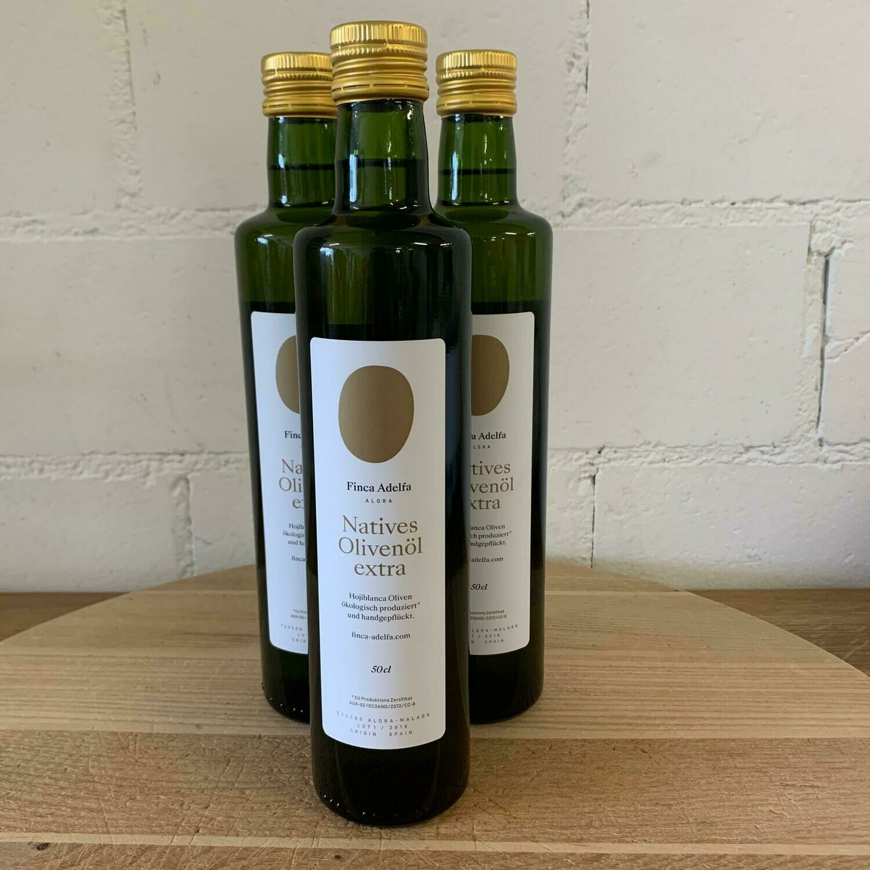 Natives Olivenöl (extra vergine) kaltgepresst, Bio, 5dl