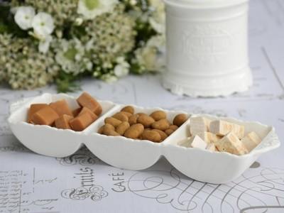 Provence fad m. 3 rum 100% porcelæn