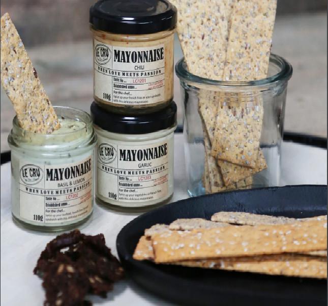 LE CRU delikatesser - Fransk mayonnaise med chili