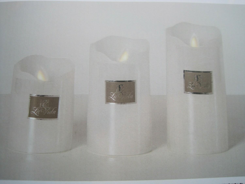 Led lys hvid m. 4H/8H timer