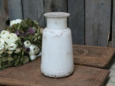 Marcy vase m. fransk dekor. H26Ø14 cm