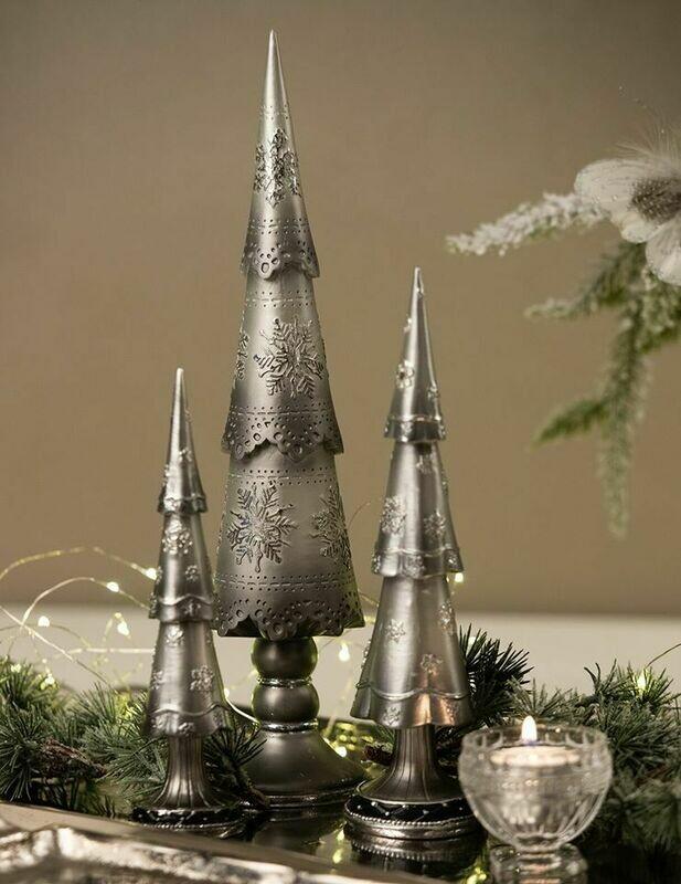 Juletræ grå