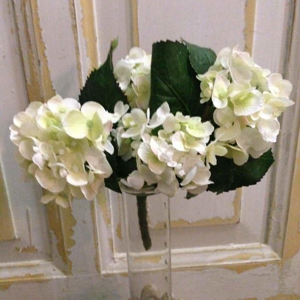 Dekorationsbuket - Hortensia. H23 cm
