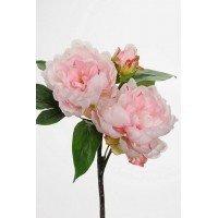 Dekorationsbuket - Pion, rosa. H30 cm