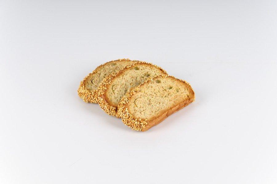 Dekorationsbrød - Brødskiver 3 stk 12x6 cm