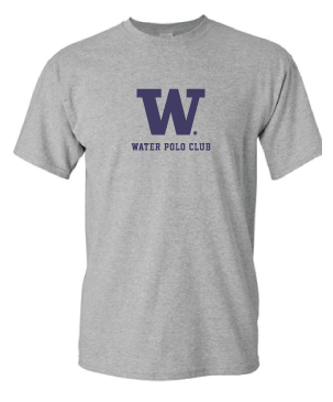 Short Sleeve UW Water Polo Supporter T-Shirt (Unisex)