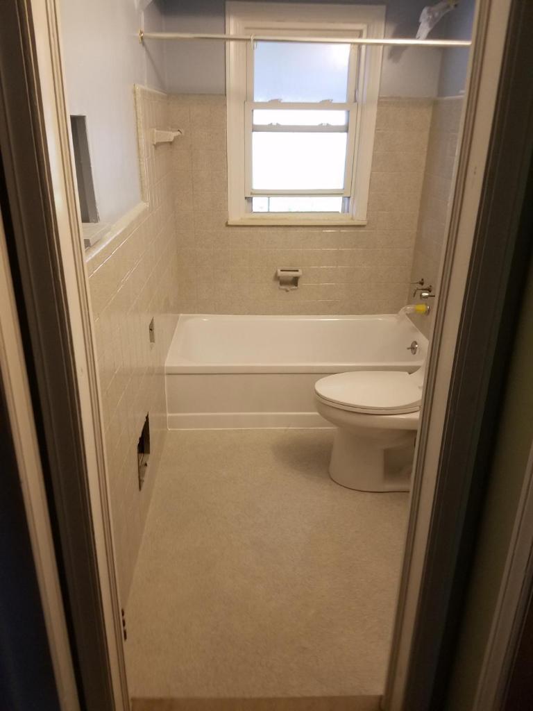 Liquid Granite Entire Bathroom