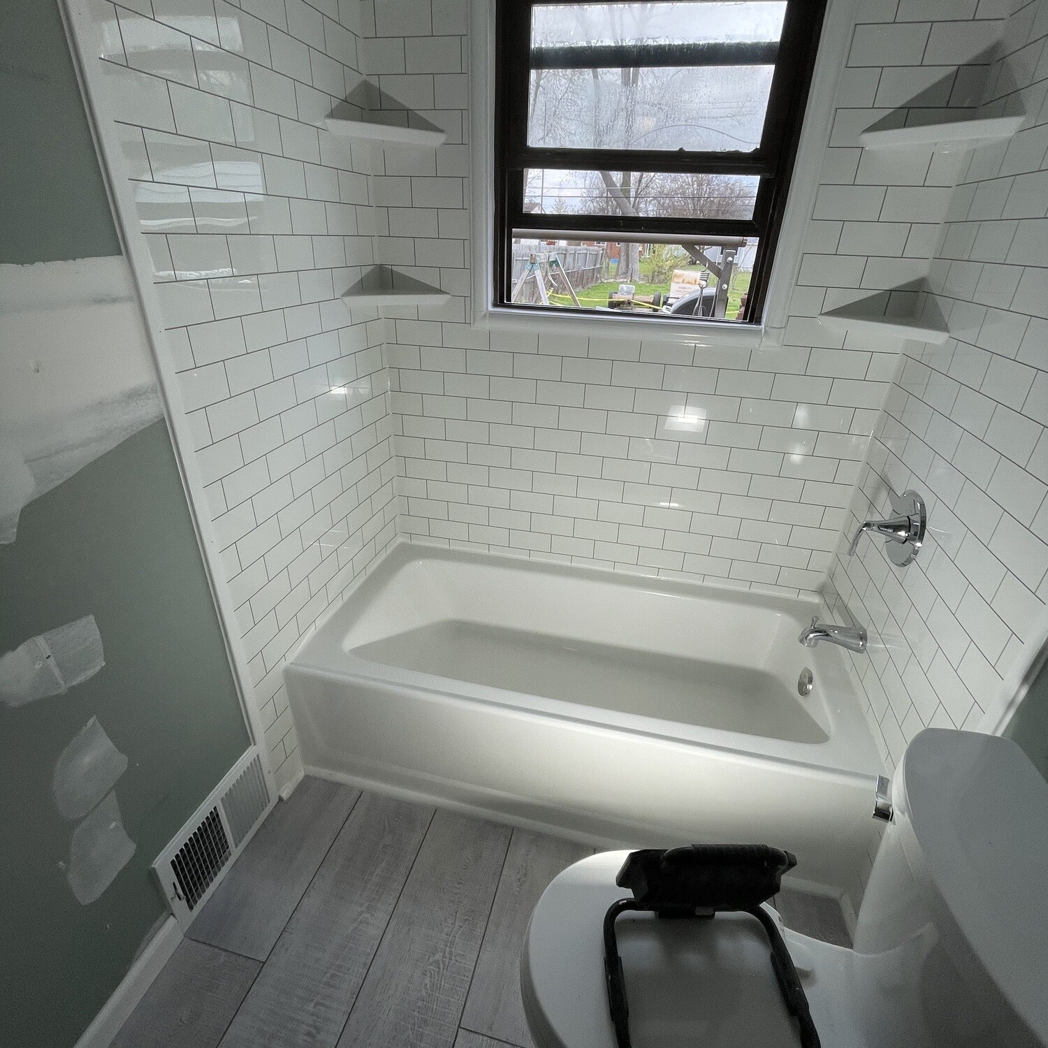 Fastile NEVER GROUT WALL SYSTEM