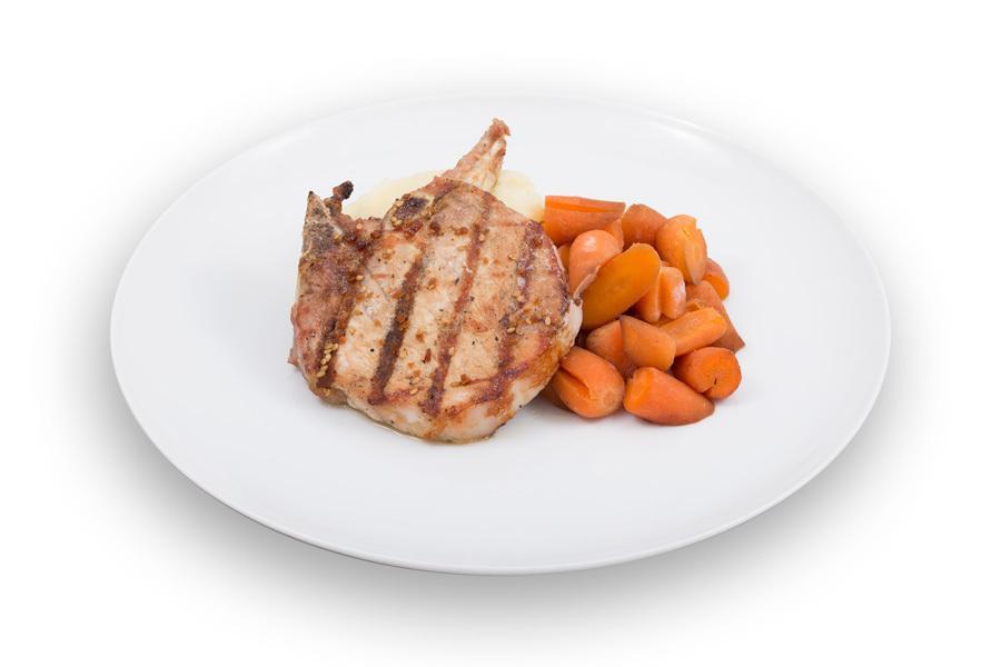 Teriyaki Glazed Pork Chop