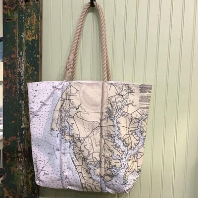 Rock Hall Sail Tote