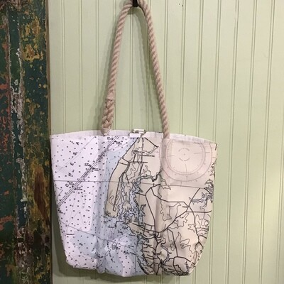 Rock Hall Sail Handbag