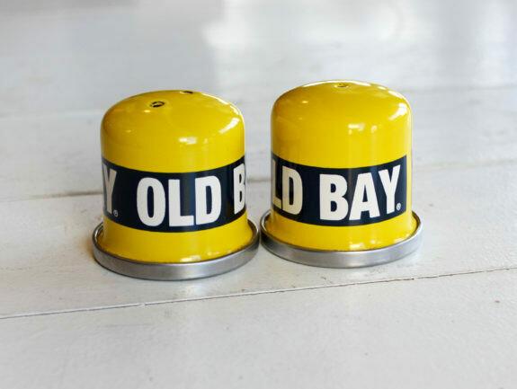 Old Bay Salt & Pepper Shakers