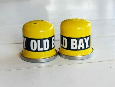 Old Bay Salt & Pepper Shakers