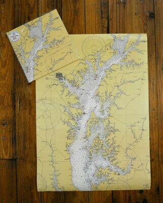 Chesapeake Bay Map Wrap