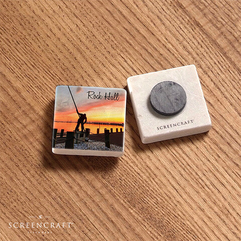 Marble Tile Magnets