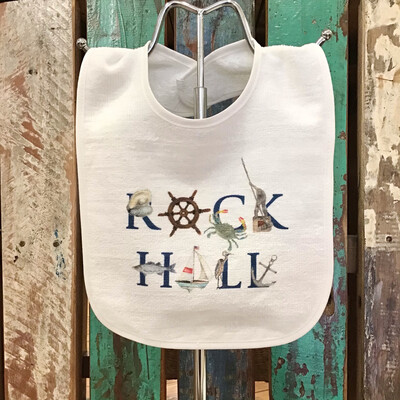 Rock Hall Baby Bib